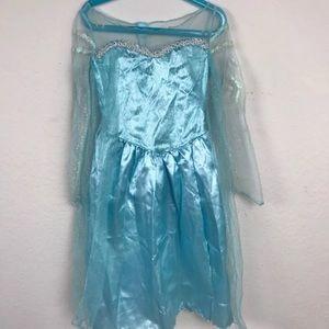 Disney Frozen Dress Costume Princess Elsa (4-6X)